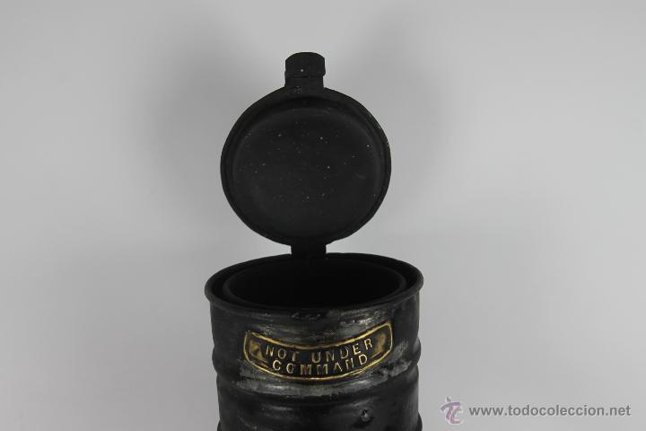 Antigüedades: FAROL MARITIMO DE POSICION. RECONVERTIDO EN LAMPARA. SEAHORSE TRADE MARK. GB. 7593. S XIX- XX. - Foto 7 - 41901713