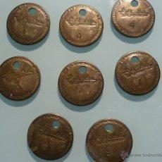 Antigüedades: LOTE 8 FICHAS DE N.V. SCHEEPSWERF EN MACHINE FABRIEK DE BIESBOSCH. DORDRECHT. ASTILLEROS HOLANDESES. Lote 41972754
