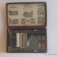 Antigüedades: AFILADOR DE CUCHILLAS DE AFEITAR MARCA ALLEGRO. Lote 42102249