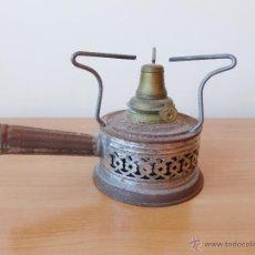Antigüedades: INFIERNILLO DE ALCOHOL ESTAÑADO.. Lote 42138197