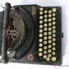 Antigüedades: MÁQUINA DE ESCRIBIR REMINGTON PORTABLE.. Lote 43777931