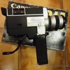 Antigüedades: CAMARA DE VIDEO SUPER 8 CANON AUTOZOOM 814 ELECTRONIC.. Lote 42164684