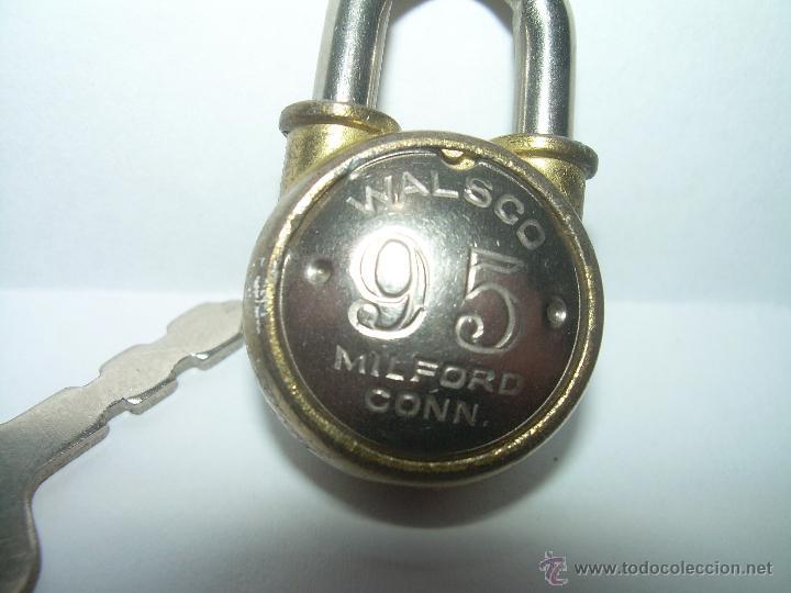 Antigüedades: ANTIGUO Y RARO CANDADO. - Foto 4 - 42171141