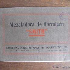 Antigüedades: CATÁLOGO DE HORMIGONERA. Lote 42187224