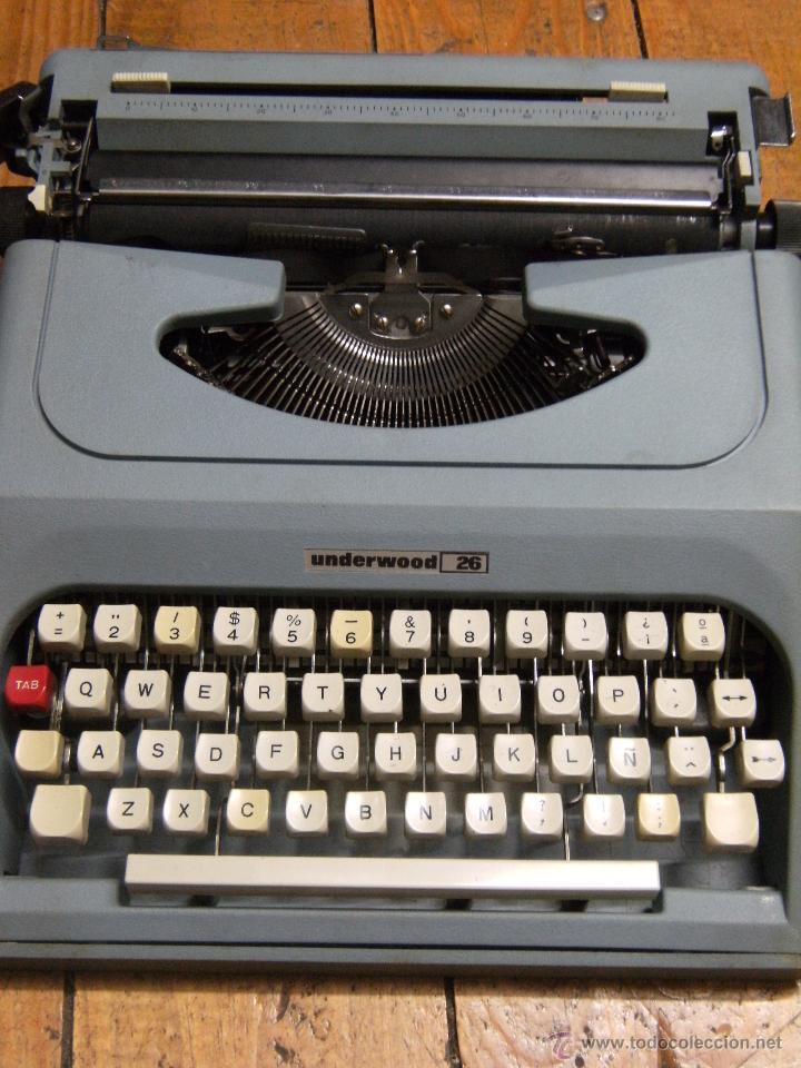 MÁQUINA DE ESCRIBIR UNDERWOOD 26 (Antigüedades - Técnicas - Máquinas de Escribir Antiguas - Underwood)