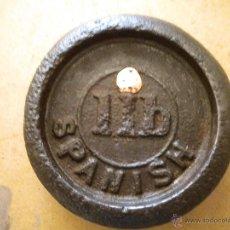 Antigüedades: UNA LIBRA SPANISH. Lote 42196294