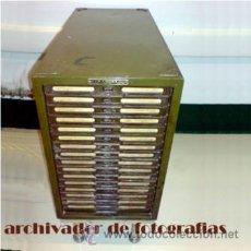 Antigüedades: ARCHIVADOR DE FOTOGRAFIA VINTAGE FOTO . Lote 42227460