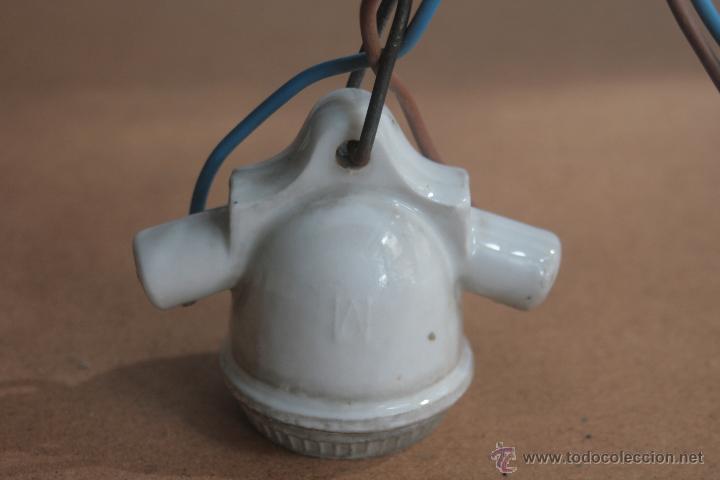 Antigüedades: LOTE ELECTRICIDAD DE CERAMICA/PORCELANA - Foto 3 - 42279416