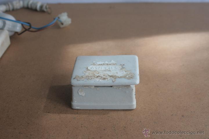 Antigüedades: LOTE ELECTRICIDAD DE CERAMICA/PORCELANA - Foto 4 - 42279416