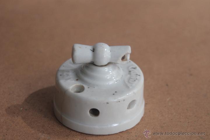 Antigüedades: LOTE ELECTRICIDAD DE CERAMICA/PORCELANA - Foto 5 - 42279416