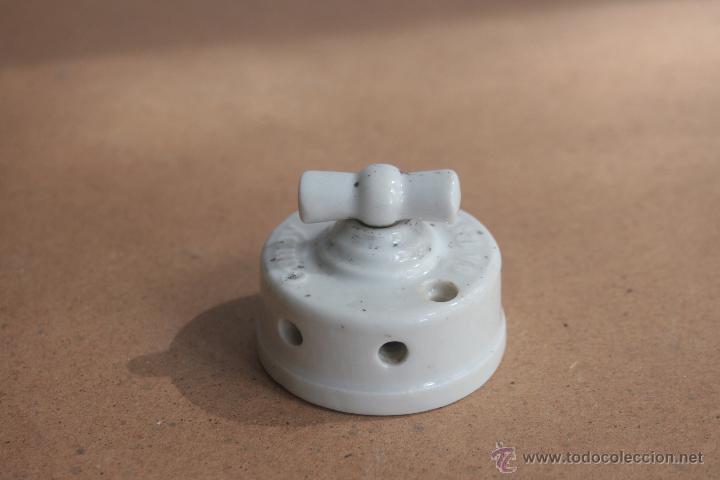 Antigüedades: LOTE ELECTRICIDAD DE CERAMICA/PORCELANA - Foto 7 - 42279416