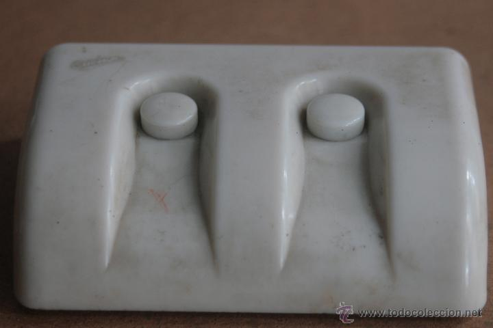 Antigüedades: LOTE ELECTRICIDAD DE CERAMICA/PORCELANA - Foto 9 - 42279416