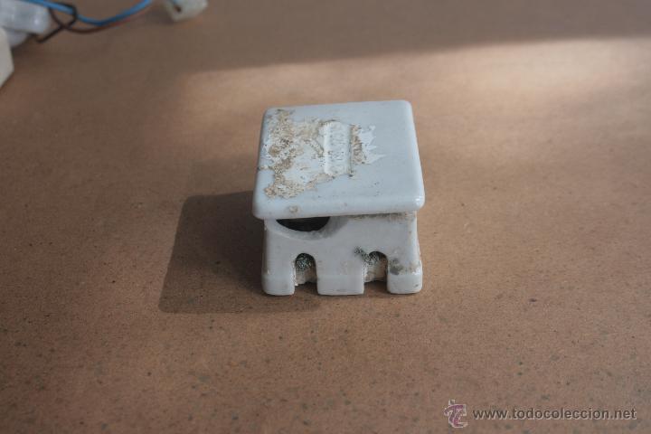Antigüedades: LOTE ELECTRICIDAD DE CERAMICA/PORCELANA - Foto 11 - 42279416