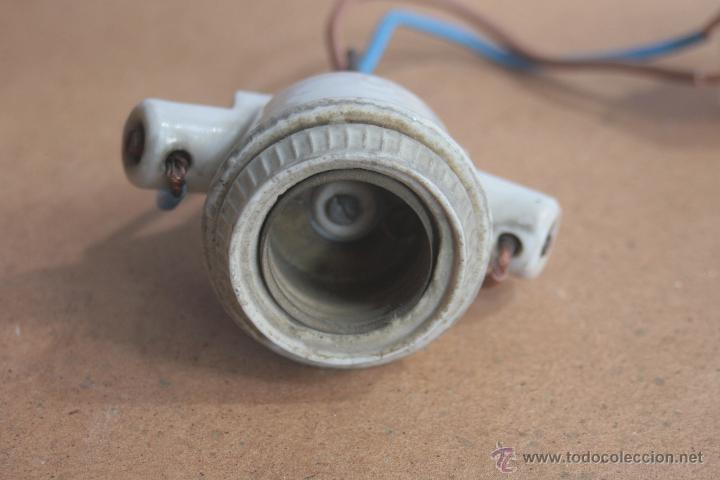 Antigüedades: LOTE ELECTRICIDAD DE CERAMICA/PORCELANA - Foto 13 - 42279416