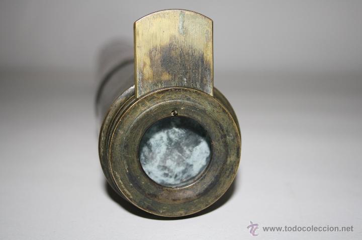 Antigüedades: CATALEJO DE NAVEGACIÓN DOLLAND LONDON - LATÓN Y MADERA - MEDIANOS SIGLO XIX - Foto 7 - 42339149