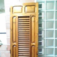Antigüedades: PUERTA DE MOBILA VIEJA RESTAURADA. Lote 42419991