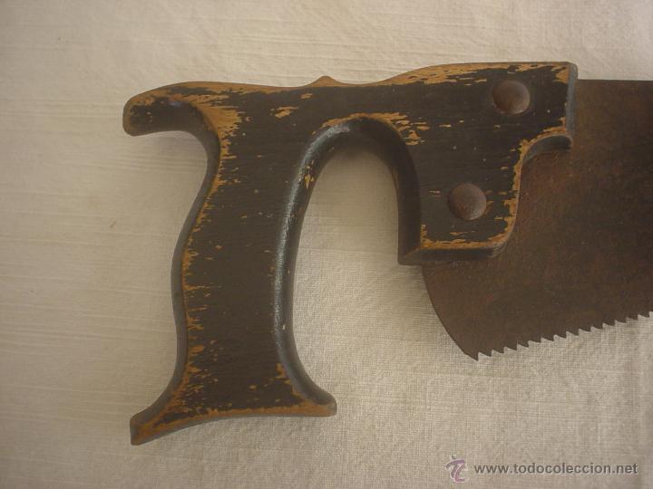 Antigüedades: SERRUCHO 38'00 CM - SIERRA - Foto 2 - 42459509