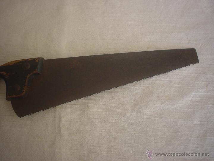 Antigüedades: SERRUCHO 38'00 CM - SIERRA - Foto 3 - 42459509