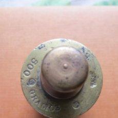 Antigüedades: PESA DE 500 GRAMOS LLETJOS Y SELLOS ANUALES. Lote 42526658
