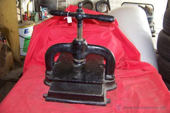 PRENSA (Antigüedades - Técnicas - Herramientas Profesionales - Imprenta)