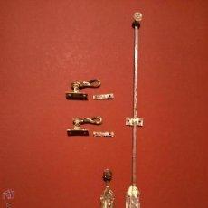 Antigüedades: ANTIGUO JUEGO DE PESTILLOS. Lote 42550788