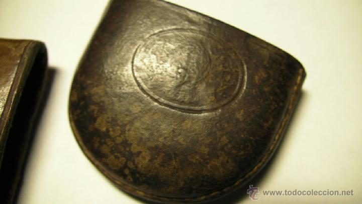 Antigüedades: GAFAS DE SOL PLEGABLES CON FUNDA DE PIEL - Foto 4 - 42564790