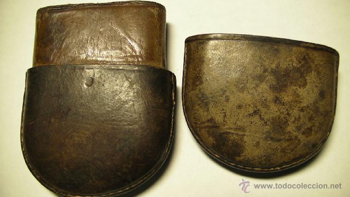 Antigüedades: GAFAS DE SOL PLEGABLES CON FUNDA DE PIEL - Foto 6 - 42564790