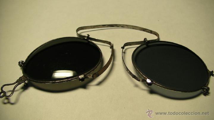 Antigüedades: GAFAS DE SOL PLEGABLES CON FUNDA DE PIEL - Foto 8 - 42564790