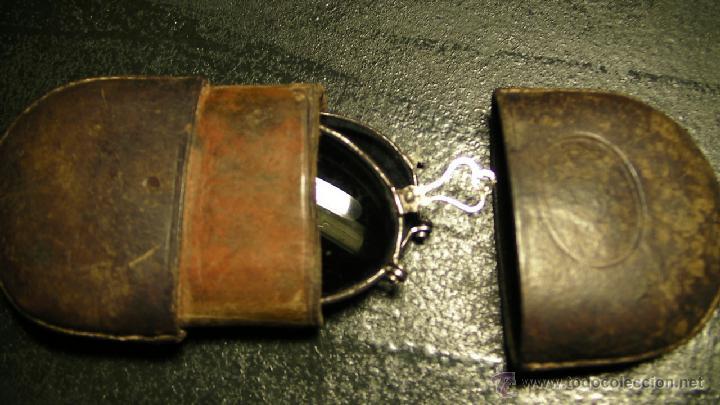 Antigüedades: GAFAS DE SOL PLEGABLES CON FUNDA DE PIEL - Foto 10 - 42564790