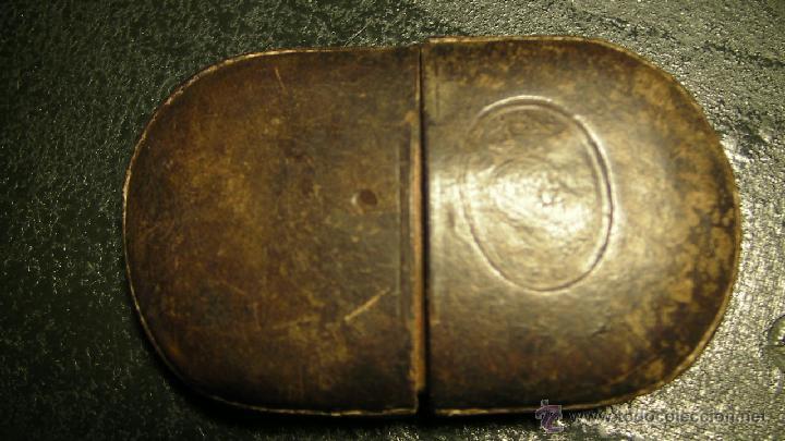Antigüedades: GAFAS DE SOL PLEGABLES CON FUNDA DE PIEL - Foto 11 - 42564790