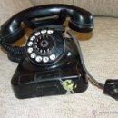 Teléfonos: ANTIGUO TELÉFONO CON CLAVIJA DE ENCHUFE, MEDIADOS SIGLO XX. Lote 42591396