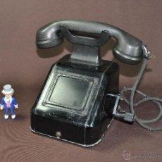 Teléfonos: TELÉFONO ALEMÁN DE MANIVELA EN BAQUELITA. Lote 42601669