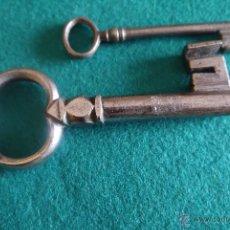 Antigüedades: PEDAZO DE LLAVE DEL SIGLO XVII. Lote 42625466