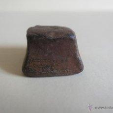 Antigüedades: PONDERAL DE PLOMO UNCIA. Lote 42673525