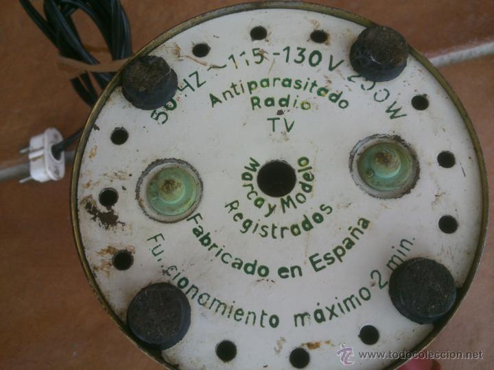 Antigüedades: MOLINILLO DE CAFÉ ELÉCTRICO FUNCIONA. . FABRICADO EN ESPAÑA. - Foto 4 - 42674163