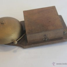 Antigüedades: TIMBRE ELÉTRICO DE CAMPANA. Lote 42703603