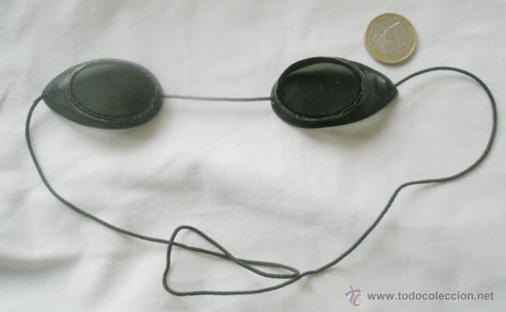 Antigüedades: Antiguas gafas de soldador, muy curiosas, cristales oscuros, uno rajado. Primer tercio S,XX - Foto 2 - 42749091