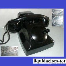 Teléfonos: R 002 ANTIGUO TELÉFONO HOLANDES A MAGNETO (PTT ERICSSON 1950) -FUNCIONANDO- 100% ORIGINAL.. Lote 42754085