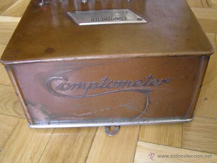 Antigüedades: ANTIGUA CALCULADORA COMPTOMETER FELT & TARRANT MFG. CO CHICAGO DE LOS AÑOS 20 COMPTOMETRO CALCULATOR - Foto 14 - 42802627