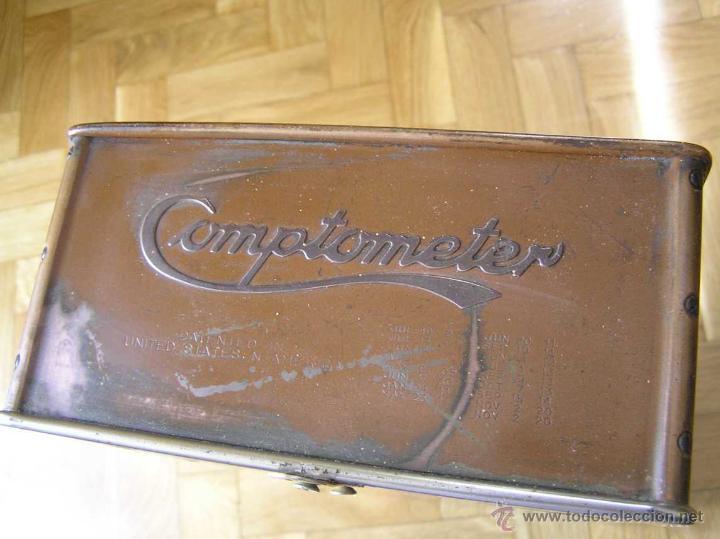 Antigüedades: ANTIGUA CALCULADORA COMPTOMETER FELT & TARRANT MFG. CO CHICAGO DE LOS AÑOS 20 COMPTOMETRO CALCULATOR - Foto 30 - 42802627