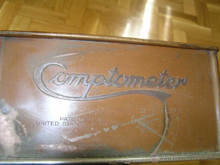 Antigüedades: ANTIGUA CALCULADORA COMPTOMETER FELT & TARRANT MFG. CO CHICAGO DE LOS AÑOS 20 COMPTOMETRO CALCULATOR - Foto 34 - 42802627