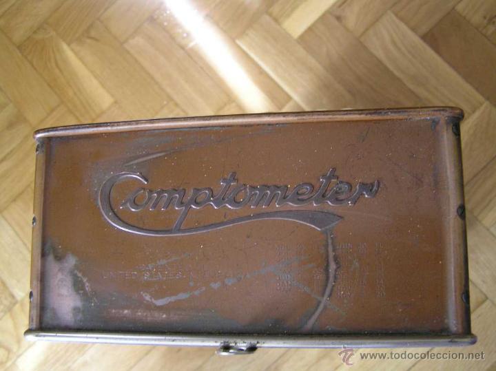 Antigüedades: ANTIGUA CALCULADORA COMPTOMETER FELT & TARRANT MFG. CO CHICAGO DE LOS AÑOS 20 COMPTOMETRO CALCULATOR - Foto 38 - 42802627