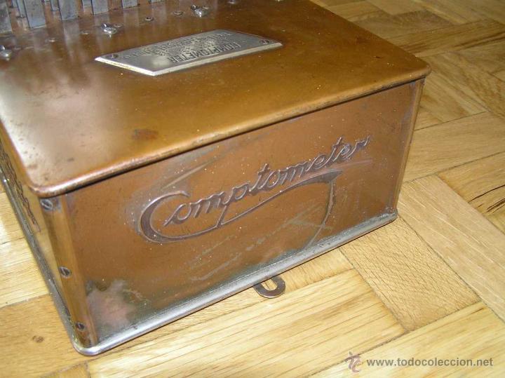 Antigüedades: ANTIGUA CALCULADORA COMPTOMETER FELT & TARRANT MFG. CO CHICAGO DE LOS AÑOS 20 COMPTOMETRO CALCULATOR - Foto 49 - 42802627
