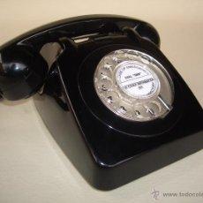 Teléfonos: TELÉFONO ANTIGUO AÑOS 60 DE SOBREMESA, 100% ORIGINAL. ADAPTADO A FIBRA ÓPTICA.. Lote 62484031