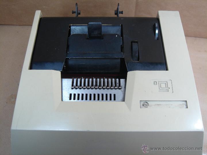 Antigüedades: ANTIGUA CALCULADORA OLIVETTI - ELECTROSUMA 20 IMPRESORA - MADE IN SPAIN AÑOS 60 - SUMADORA multisuma - Foto 2 - 42824226