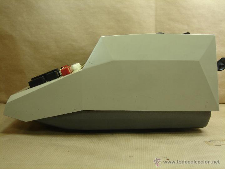 Antigüedades: ANTIGUA CALCULADORA OLIVETTI - ELECTROSUMA 20 IMPRESORA - MADE IN SPAIN AÑOS 60 - SUMADORA multisuma - Foto 5 - 42824226