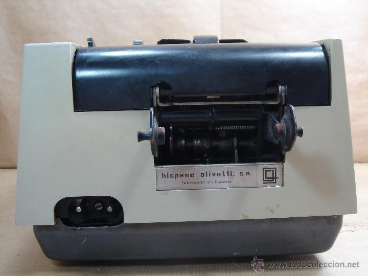 Antigüedades: ANTIGUA CALCULADORA OLIVETTI - ELECTROSUMA 20 IMPRESORA - MADE IN SPAIN AÑOS 60 - SUMADORA multisuma - Foto 6 - 42824226