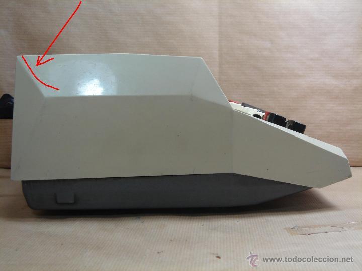 Antigüedades: ANTIGUA CALCULADORA OLIVETTI - ELECTROSUMA 20 IMPRESORA - MADE IN SPAIN AÑOS 60 - SUMADORA multisuma - Foto 9 - 42824226