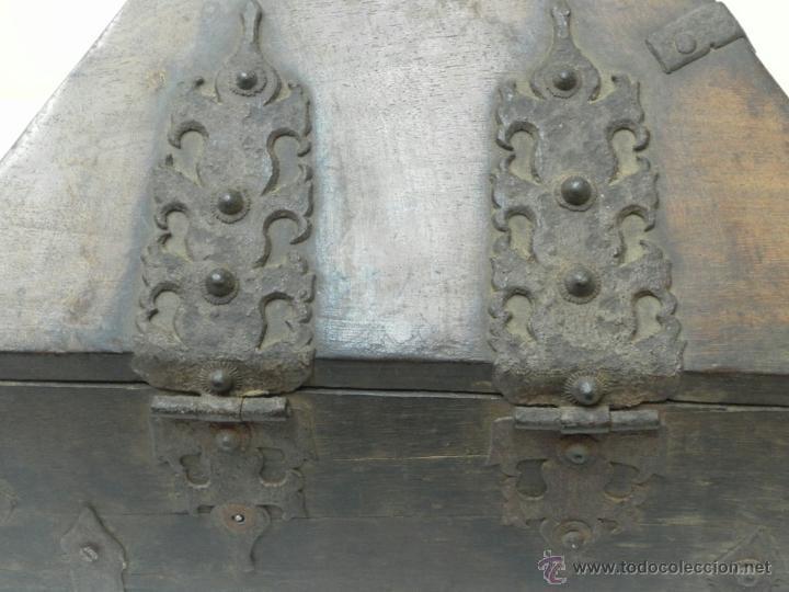 Antigüedades: Caja con Herrajes. Siglo XV / XVI. - Foto 7 - 42853211