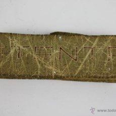 Antigüedades: CINTA METRICA EN TELA. R. GONZALEZ S. XIX. Lote 42879491